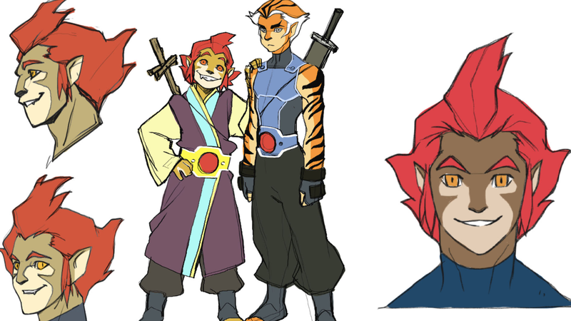 This Concept Art From the 2011 ThunderCats Reboot Is a