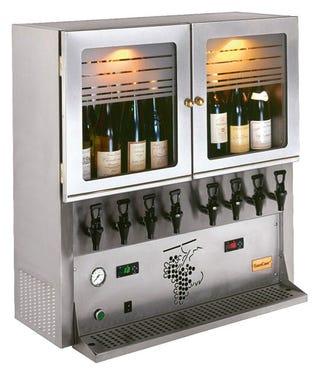 Illustration for article titled Vin Au Verre: Kegerator for Wine