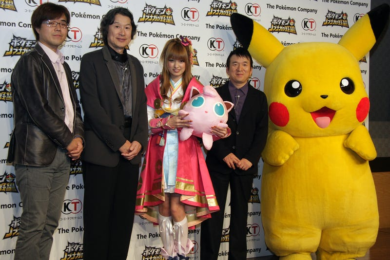Illustration for article titled Is This the First Pokémon Plus Nobunaga's Ambition Cosplay?