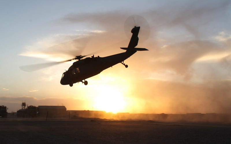 Illustration for article titled Army Black Hawk Disappears Off The Florida Panhandle, 11 Missing