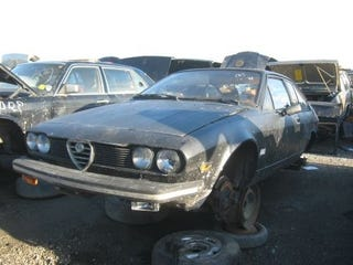 Illustration for article titled Malaise Era Alfetta GTV Hangs On Long Enough To See a New Decade... Barely