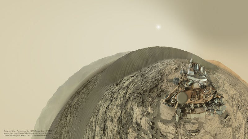 Illustration for article titled The Mars Curiosity Rover Learned a New Camera Trick