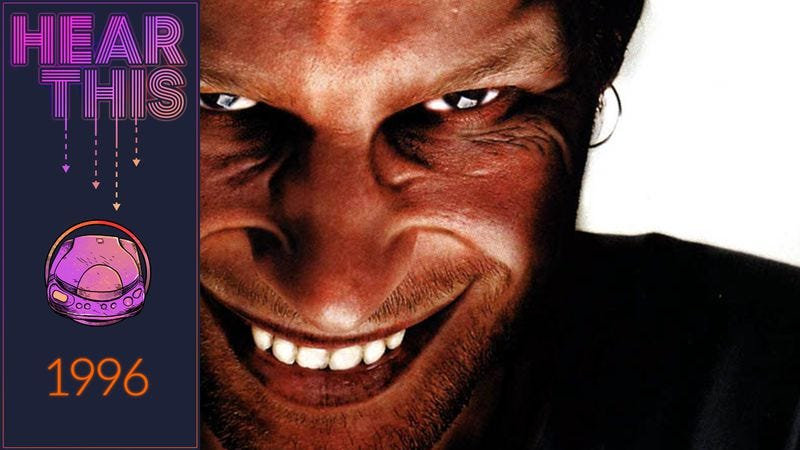 Illustration for article titled 1996 may not have been ready for Aphex Twin