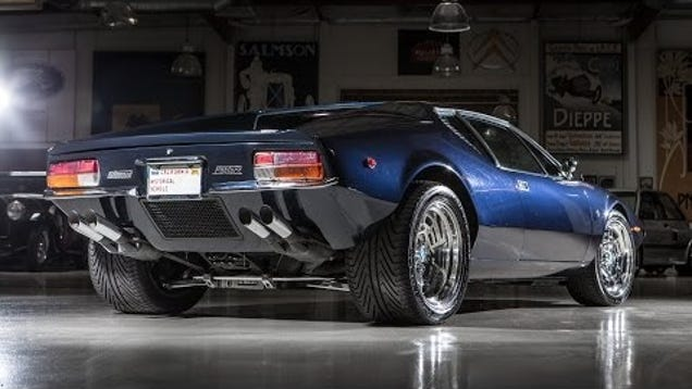 Car Museum Los Angeles >> Jay Leno Explains What Makes The De Tomaso Pantera So Amazing