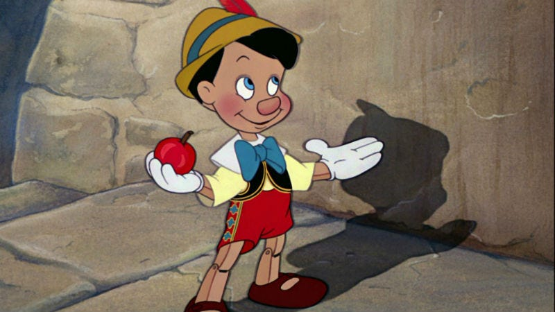 Illustration for article titled A New Pinocchio Movie Just Became A Must See Thanks To Its Writer