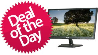 Illustration for article titled This 24-inch LG LCD Monitor Is Your LG's-Logo-Looks-Like-Pac-Man Deal of the Day