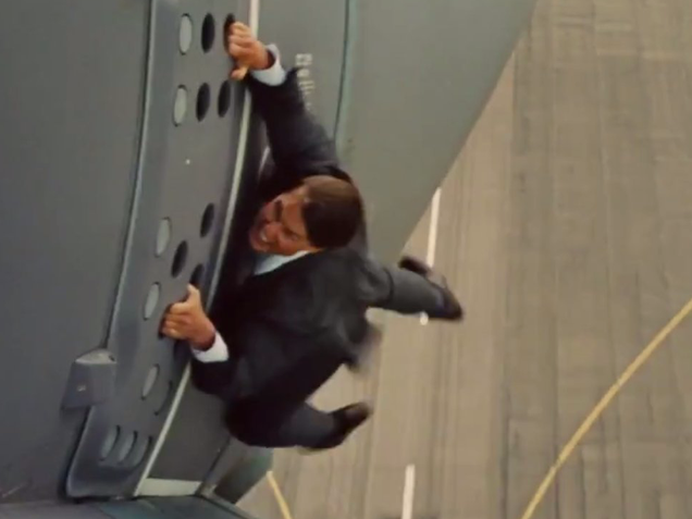 Quizás Tom Cruise se inspiró en esta historia para hacer esto