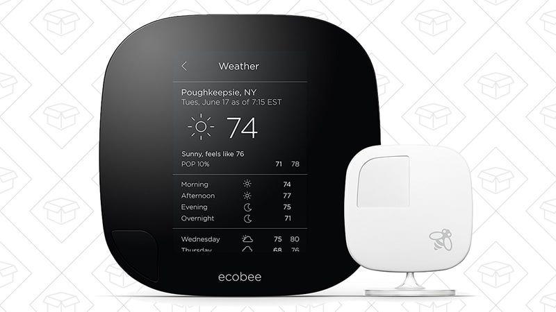 Ecobee3 Smart Thermostat, $170