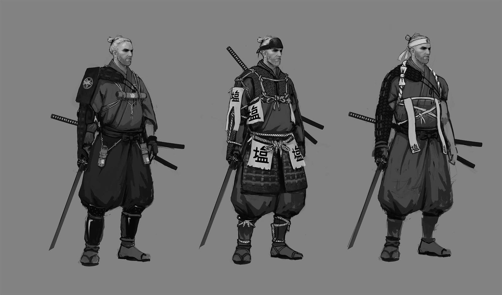 The Witcher 3's Creators Have Imagined Geralt As A Samurai