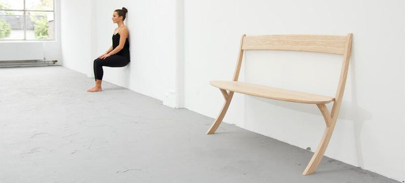 Illustration for article titled This Beautiful Bench Has a Real Sense of Balance