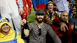 The Cubs Celebrated Jake Arrieta's No-Hitter With A Pajama Party