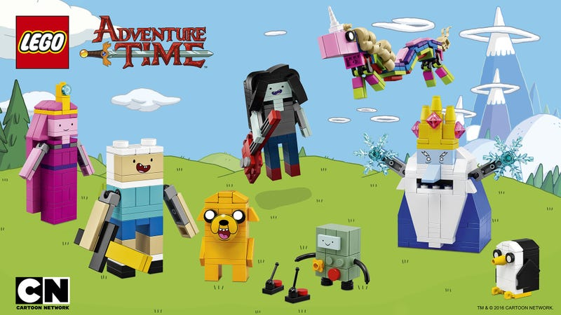 Illustration for article titled Our First Look at Lego's Upcoming Adventure Time Set Is Missing a Few Characters