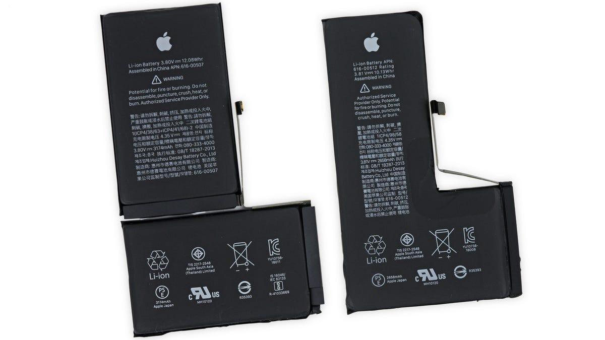 iPhone XS Teardown Reveals a Wild Battery and Way Bigger Camera Sensor