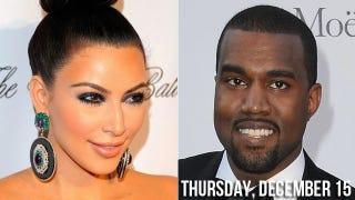 Illustration for article titled Kanye West Kaught Karessing Kim Kardashian