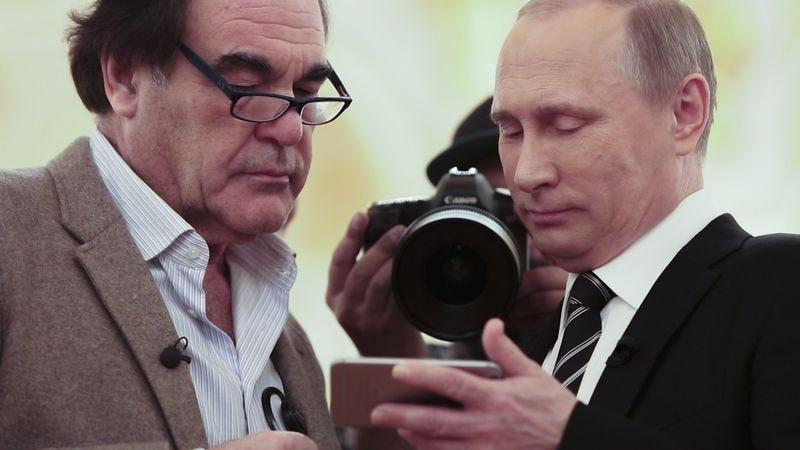Oliver Stone (left), Vladimir Putin (Photo: Komandir/Showtime)