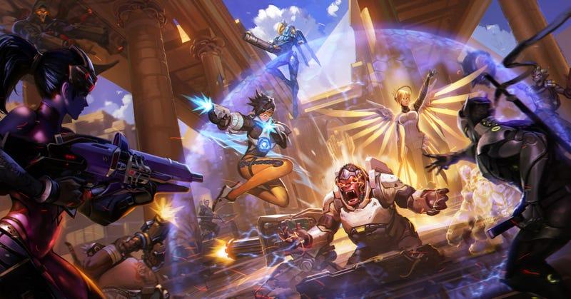 Illustration for article titled Un jugador de Overwatch alcanzaen solitarioel máximo nivel del juego después de 6 meses sin parar