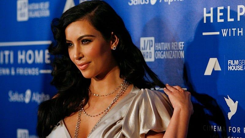 Illustration for article titled Kim Kardashian Thinks Jon Hamm Is an Ass Talker
