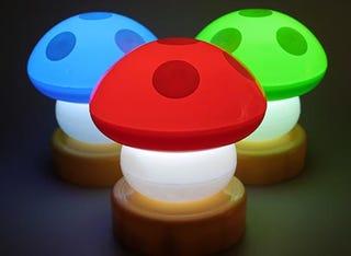 Illustration for article titled Mario Mushroom Lights, Fanboy Up