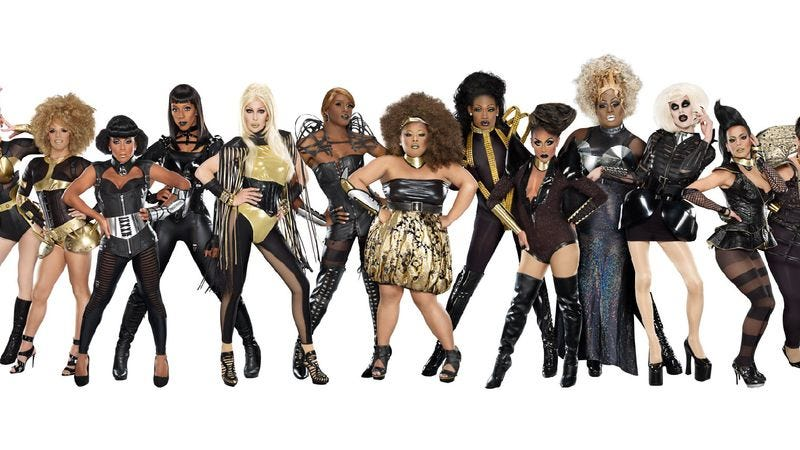 """Illustration for article titled RuPaul's Drag Race: """"The Final Three"""""""