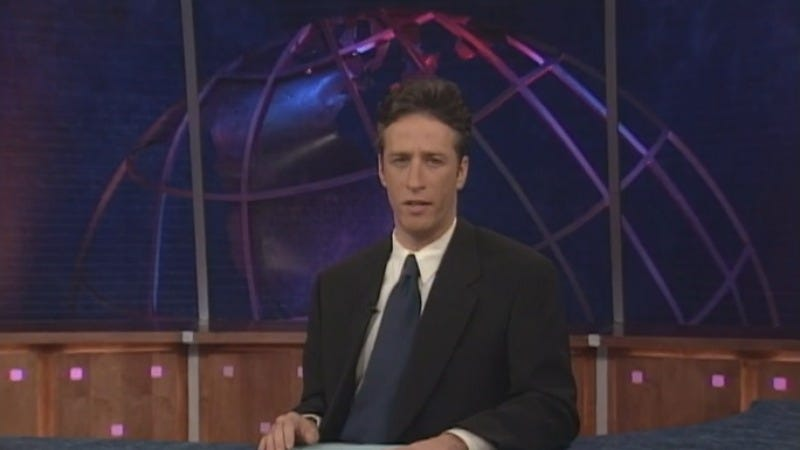"""Illustration for article titled Comedy Central is streaming the entirety of Jon Stewart's Daily Show tenure in """"Your Month Of Zen"""""""