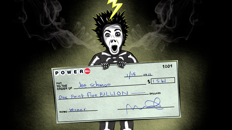 You Have A Better Chance Of Getting Hit By Lightning In A Frog Thunderstorm  Than You Do Winning The Powerball, But Hey, Itu0027s Always Fun To Play  Billionaire.