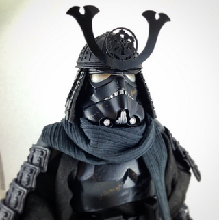 Illustration for article titled Samurai Stormtrooper Figure