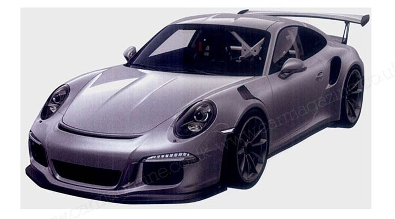 Illustration for article titled The 2015 Porsche 911 GT3 RS Might Be The Nastiest Modern 911 Yet