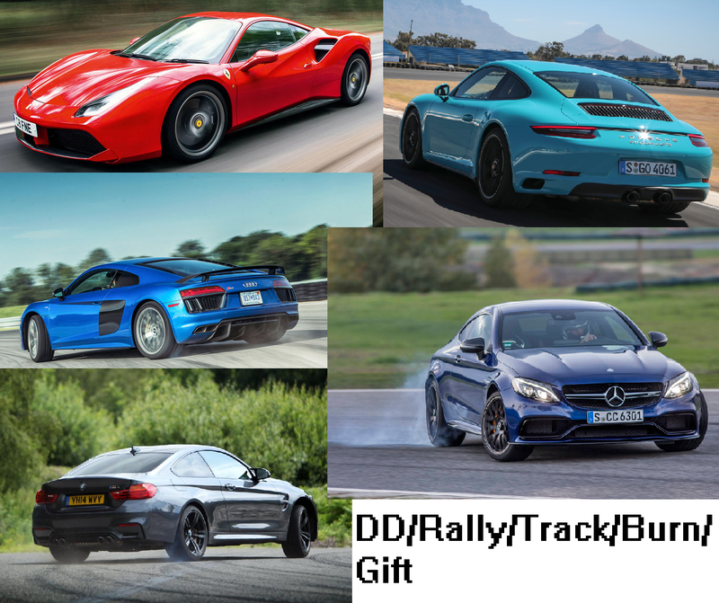 Illustration for article titled Daily/Rally/Track/Burn/Gift: (488/R8/991.2GTS/M4/C63S)