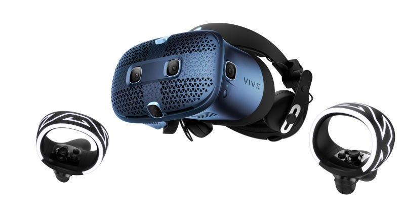 Illustration for article titled El nuevo HTC Vive Cosmos llega en octubre con realidad virtual en HD y sin cables por 699 dólares