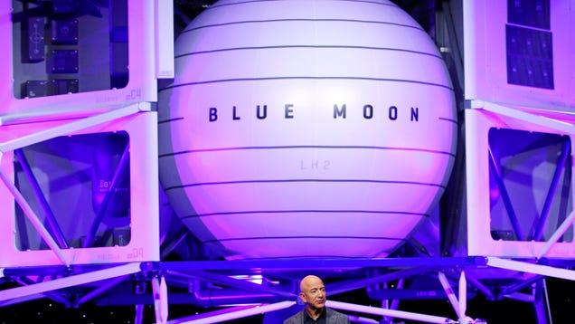 Jeff Bezos Instigates Potentially Crushing Delay of NASA Lunar Lander