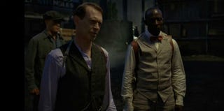 Nucky Thompson (Steve Buscemi) and Chalky White (Michael K. Williams) on Boardwalk Empire (HBO.com)