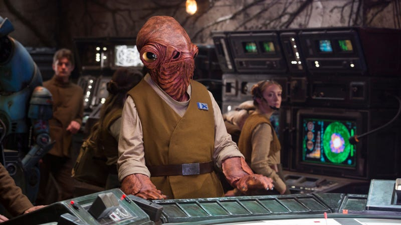 Ackbar, lookin' at all them Star Wars films.