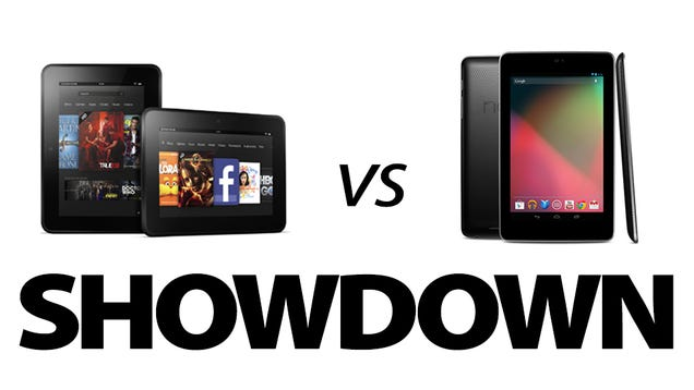 Kindle Vs Sony Reader: Kindle Fire HD Vs. Nexus 7: What's The Best 7-inch Tablet