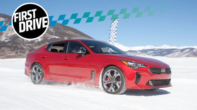 the awd 2018 kia stinger gt will leave you begging for a. Black Bedroom Furniture Sets. Home Design Ideas