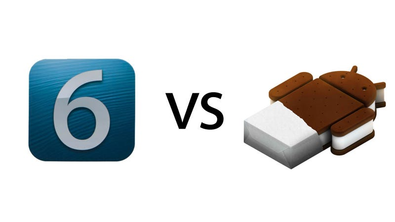 Illustration for article titled iOS 6 vs. Ice Cream Sandwich: The Ultimate Comparison