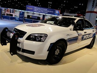 Illustration for article titled Chevy Caprice Police Cruiser