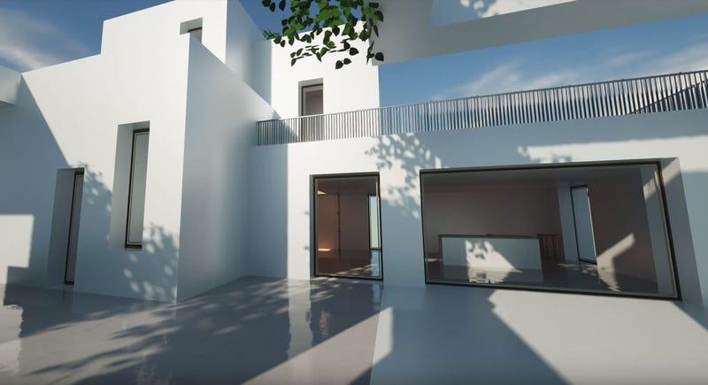 Illustration for article titled Esta casa no es real: fue creada completamente en Minecraft
