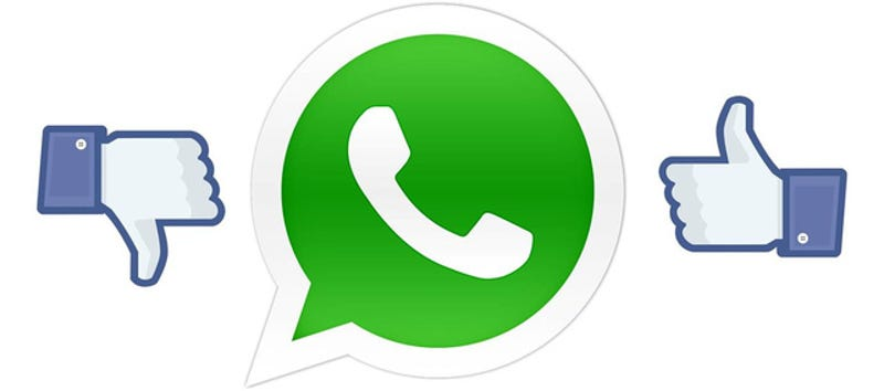 Illustration for article titled ¿Dejarás de utilizar WhatsApp tras la compra de Facebook?