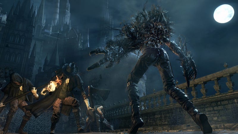 Illustration for article titled Bloodborne DLC Finally Answers Whether You Can Become A Beast