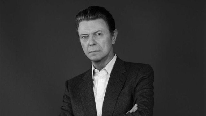 """Illustration for article titled David Bowie's posthumous single """"I Can't Give Everything Away"""" gets a video"""