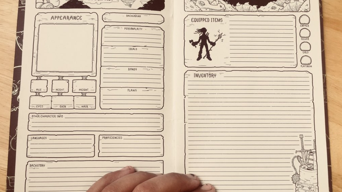 It is a photo of Modest Printable Dm Screen 5e Pdf