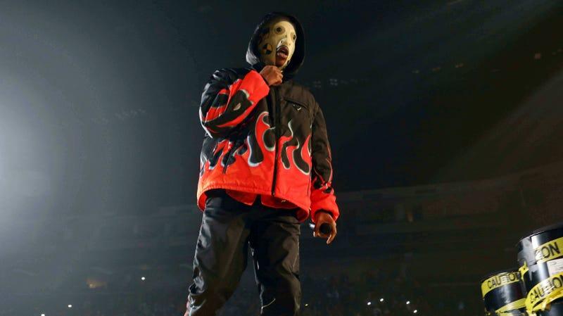 A$AP Rocky performing in Atlanta, Jan. 23, 2019