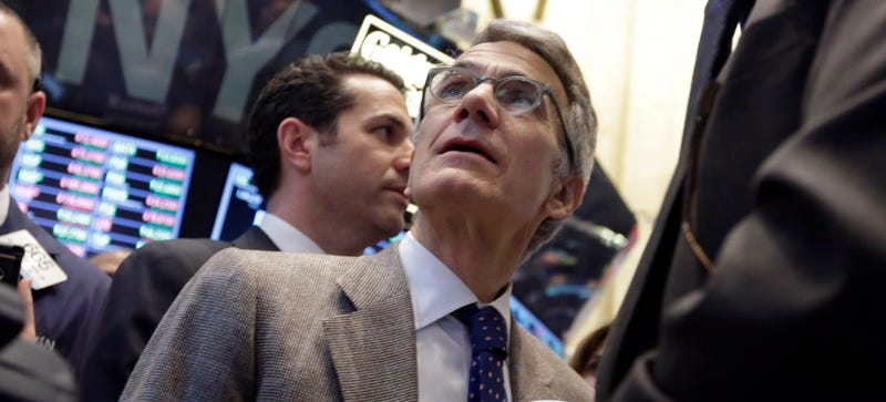 Castlight Health co-founder and CEO Dr. Giovanni Colella on the floor of the NYSE March 14, 2014 (AP)
