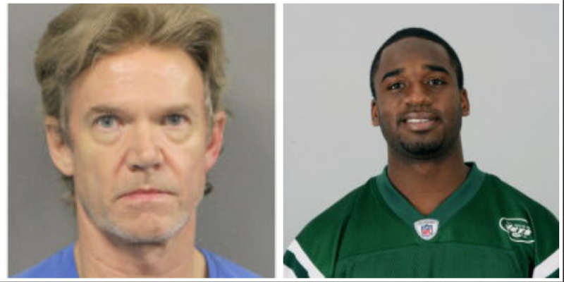 Ronald Gasser (Jefferson Parish, La., Sheriff's Office); Joe McKnight (NFL via Getty Images)