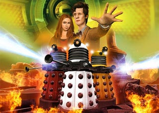 Illustration for article titled London Ravaged By Aliens In City Of The Daleks