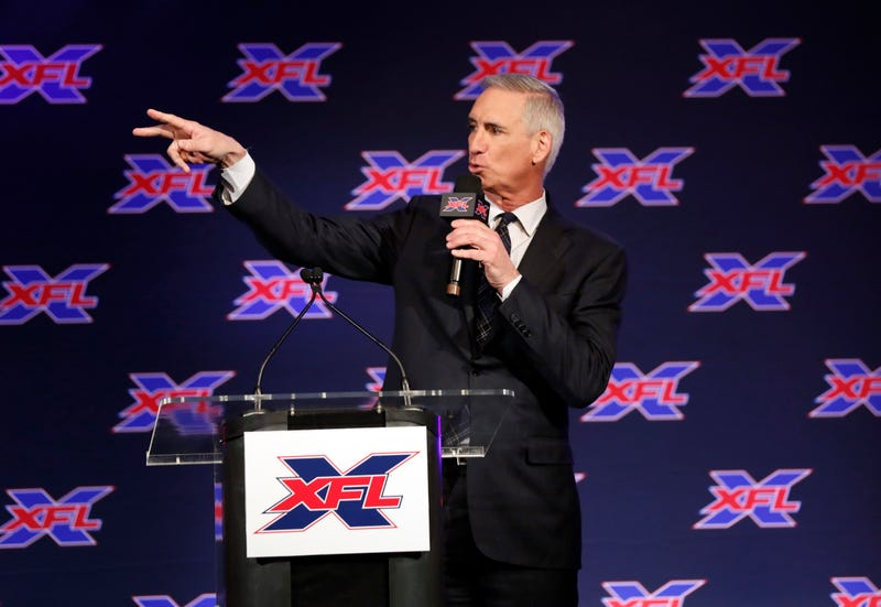 Oliver Luck, XFL commissioner and a Guy in his own right.