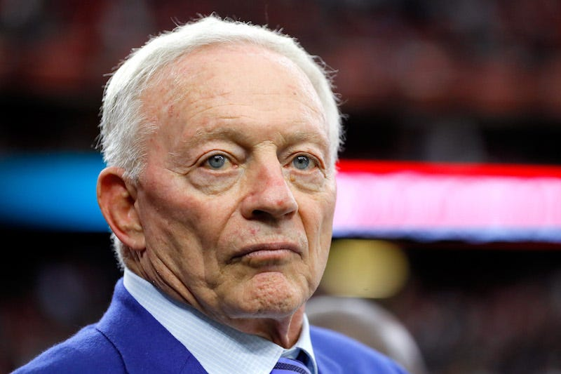 Jerry Jones Mad At The System He Helped Create