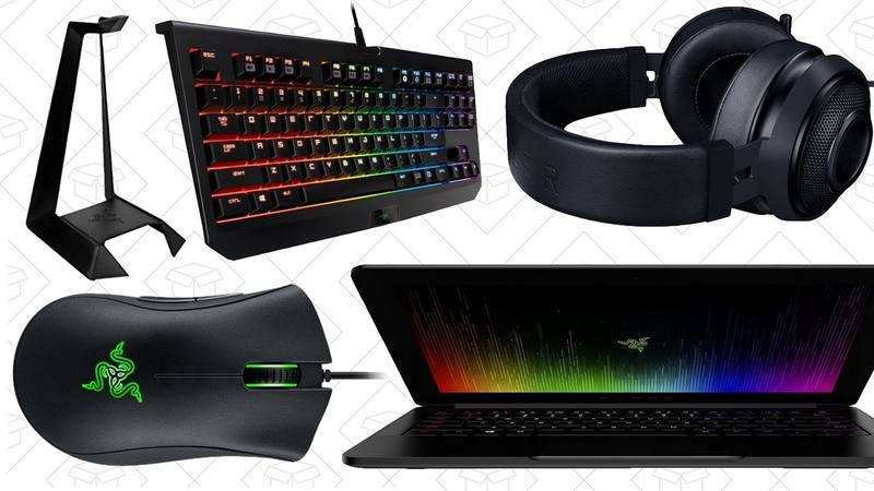 Illustration for article titled Today's best deals: Razer gaming gear, a smart thermostat, and more