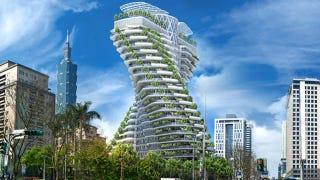 Illustration for article titled El ADN hecho edificio
