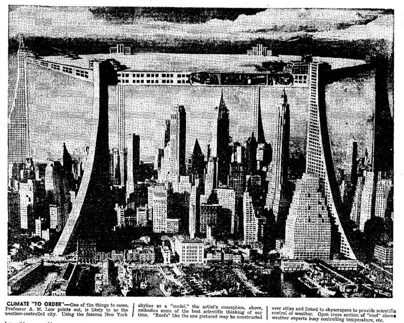 Illustration for article titled Roof Over New York (1949)